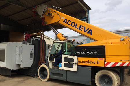 Nouvelle grue industrielle 45 tonnes