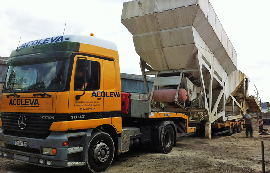 Location de camions grues et poids lourds